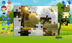 Puzzles for kids: landscape screenshot 5/6