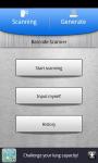 B-arcode scanner screenshot 1/3