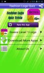 Logo Quiz Fashion Brand Game screenshot 1/6