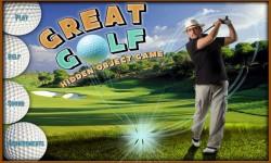 Free Hidden Objects Game - Great Golf screenshot 1/4