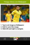 Thiago Silva Live Wallpaper screenshot 4/5
