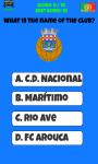 Portugal Football Logo Quiz screenshot 3/5