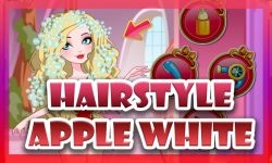Apple White Haircuts Game screenshot 1/4