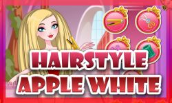 Apple White Haircuts Game screenshot 2/4