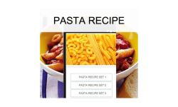 Pasta recipes food screenshot 1/3