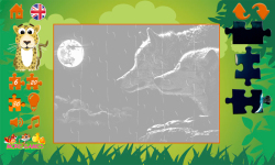 Puzzles: wild animals screenshot 5/6