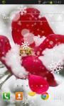 Winter Rose Live Wallpaper HD screenshot 2/2