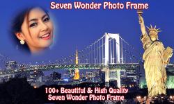 7 Wonders Photo Frame screenshot 4/4