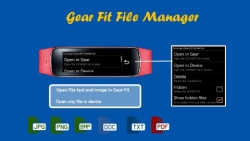 Gear Fit File Manager specific screenshot 1/6