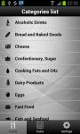 Diet and Calories Tracker screenshot 2/6