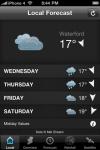 Irish Weather screenshot 1/1