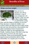 Benefits of Peas screenshot 3/3