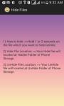 Hide  Files screenshot 4/4