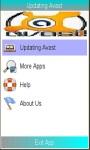 Avast Updating Security screenshot 1/1