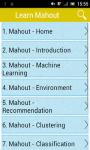 Learn Mahout screenshot 1/3