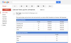 Easy calls and texts logger screenshot 5/6