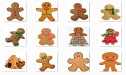 Christmas Gingerbread Onet Classic Game screenshot 1/3