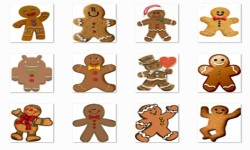 Christmas Gingerbread Onet Classic Game screenshot 2/3