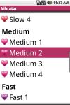 Android VIBRATOR screenshot 3/6