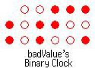 Binary Clock screenshot 1/1