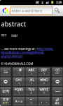 English to Hindi Dictionary on Android screenshot 1/4