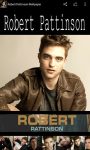 Robert Pattinson Wallpaper Free screenshot 6/6