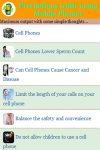 Precautions while using Mobile Phones screenshot 2/3