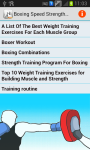 Boxing Strength Workouts screenshot 1/2