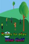 Rules to play Disc Golf screenshot 1/3