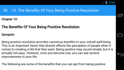 How to be Positive screenshot 6/6