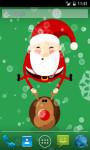 Bouncing  Santa Live Wallpaper screenshot 1/3