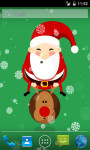 Bouncing  Santa Live Wallpaper screenshot 2/3
