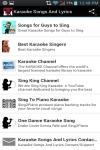 Karaoke Songs And Lyrics screenshot 1/6
