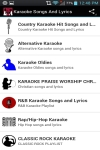 Karaoke Songs And Lyrics screenshot 2/6
