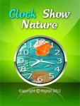 Clock Show Nature 1 Free screenshot 1/6