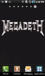 Megadeth Live Wallpaper screenshot 1/3
