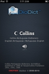 Collins Portuguese Dictionary by DioDict - with TTS & Handwriting recognition screenshot 1/1