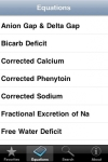 Electrolytes Calc screenshot 1/1