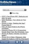 HotMacNews screenshot 1/1
