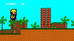 8-Bit Endless Runner screenshot 2/4