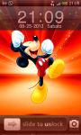 Mickey Mouse Iphone Locker screenshot 1/5
