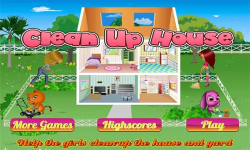 Clean Up House-Girls Game screenshot 1/4