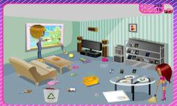 Clean Up House-Girls Game screenshot 2/4