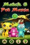 Match 3 Pet Mania screenshot 1/5