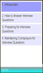 Successful Interview Tips and Guide screenshot 1/1