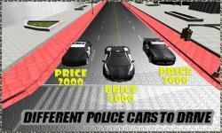 Police Car Racing in City 3D screenshot 1/3