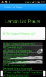 Lemon List Player screenshot 2/6