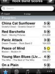Rock Band Scores screenshot 1/1