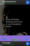 Birthday Greeting screenshot 2/4