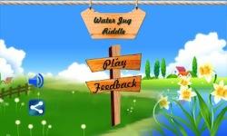 Water Jug Puzzle Fun Game screenshot 1/5